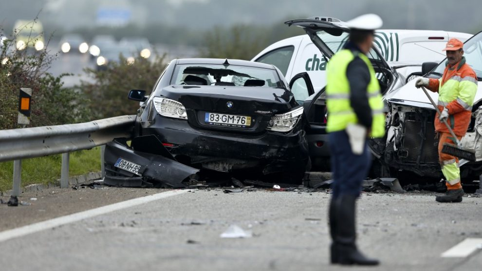 acidente autoestrada